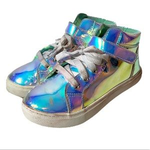 Wonder Nation Rainbow Reflection  Sneakers (Youth)